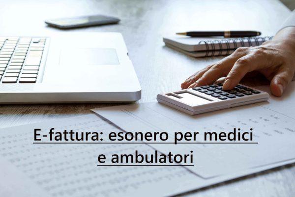 Fatturazione-elettronica-esonero-medici-ambulatori