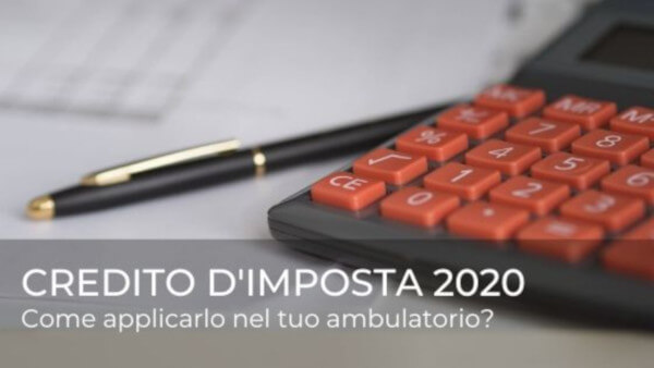credito-dimposta-2020-ambulatorio-poliambulatorio