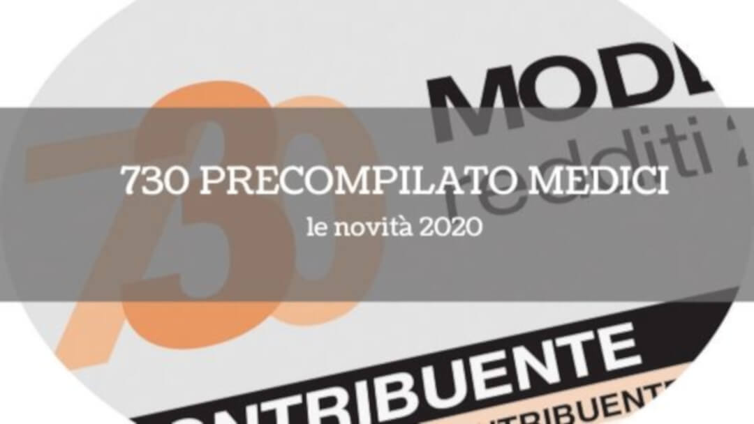 730 precompilato medici: le novità 2020