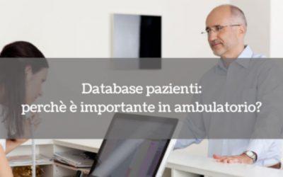 Database pazienti: perchè è importante in ambulatorio?