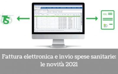 Fattura elettronica e invio spese sanitarie: le novità 2021
