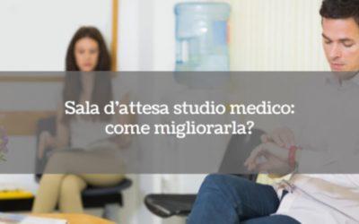 Sala d'attesa studio medico: come migliorarla?