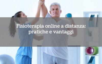 Fisioterapia online a distanza: pratiche e vantaggi